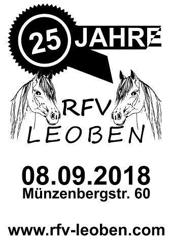 Einladung - 25 Jahre RFV Leoben